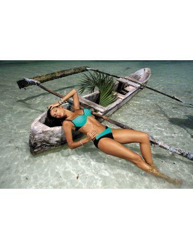 Ženske kopalke Jennifer Caraibi-Nero M-408 (3)