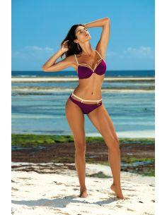 Ženski kupaći kostim Nathalie Magenta Purple M-391 (19)