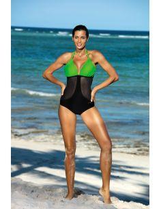 Ženski kupaći kostim Priscilla Erba-Nero M-428 (2)